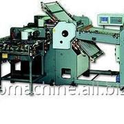Автоматическая комбинированная фальцевальная машина LiREN K72-4KLL фото