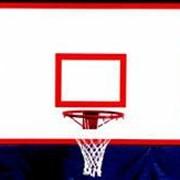 АКВЕЛЛА Щит баскетбольный игровой на металлической раме 1800х1050мм фанера арт. AQ17497 фото