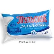 Молоко Тульское жирностью 3,2% фото