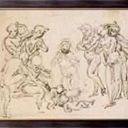 Картина Без имени, Винчи, Леонардо да фото