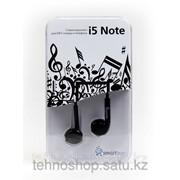 Внутриканальные наушники SmartBuy® i5 Note, черные SBE-9150/200/ фото
