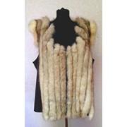 Женские жилетки из меха песца фото