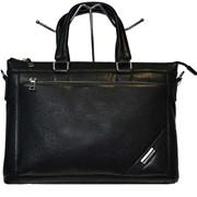 Мужская сумка-портфель на длинном ремне 9918-2 фото