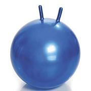 Мяч резиновый гладкий с рожками фото