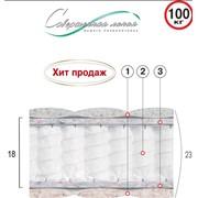 Матрац пружинный Кристалл 1 м. кв фото