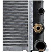 Радиатор охлаждения Mercedes W124 E200D, E300D, E250TD (АКПП) - D7M003TT (NRF 516573 / NIS 62698A) фото