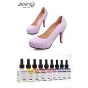 Немецкая краска для обуви Color розовый фото