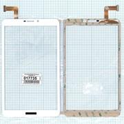 Сенсорное стекло (тачскрин) CN069FPC-V0 (205*120 mm) белое, Диагональ 8.0 фото