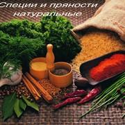 Специи и сушеные овощи натуральные фото