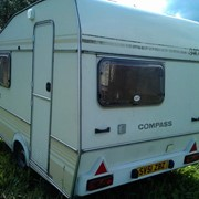 Прицеп дача COMPASS 650kg +палатка - 1992 г. в. фото