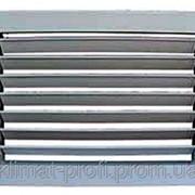 Решетка настенная однорядная РВ 3040-1 200х200 мм фото