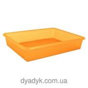 Лоток универсальный 330*260*60 мм, Оранжевый фото