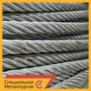 Канат стальной 35,5 мм ЛК-РО 6х36(1+7+7/7+14)+7х7(1+6) ГОСТ 7669 фото