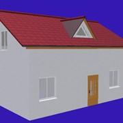 """Проект дома из СИП панелей для семьи из 3-4 человек """"ЛАДА"""" фото"""