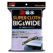 Микрофибра Soft99 Microfiber Cloth Wide - Super Water Absorbent 100*30 см (Япония) фото