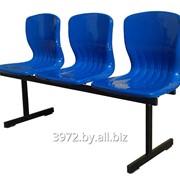 Секция стульев Волна-3 фото