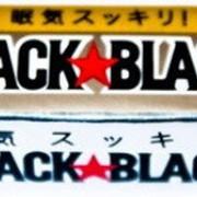 Жевательная резинка LOTTE БЛЭК БЛЭК (BLACK BLACK GUM) с кофеином фото
