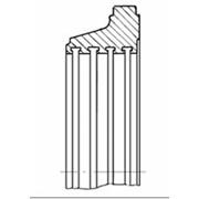 Узлы и детали проточной части турбин: Oбоймы фото