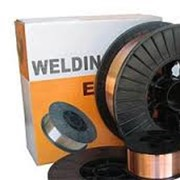 Проволока сварочная 0.8 5 кг. WELDING WIRE ER70S-6 фото