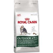 Outdoor +7 Royal Canin корм для активных кошек, от 7 лет и старше, Пакет, 4,0кг фото