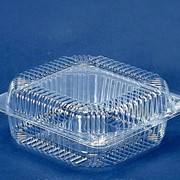 Блистерная упаковка для салатов и кондитерских изделий. фото