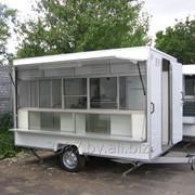 Мобильное кафе для фаст-фуд (хот-дог и сэндвичи) фото