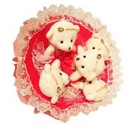 Букет из мягких игрушек Малиновое Варенье 4013 фото