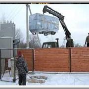 Услуги крана - манипулятора при перевозке генераторов фото