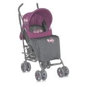 Детская коляска-трость Bertoni (Lorelli) Fiesta+накидка на ножки GreyPink Spring 1460 фото