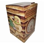 Коробка подарочная для пивной кружки Банька фото
