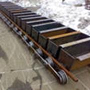Полотно ковшових (клинкерных) транспортеров фото