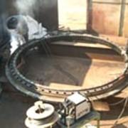 Восстановление опорно-поворотного устройства крана МКТ-250 фото