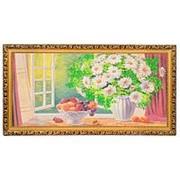 """Картина """"Ромашки из сада"""" багет 39х76 см К854 фото"""