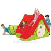Детский домик с горкой Keter Funtivity фото