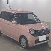 Хэтчбек HONDA N ONE кузов JG1 модификация G L Package год выпуска 2015 пробег 18 тыс км цвет розовый фото
