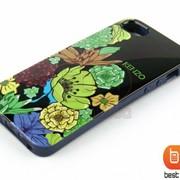 Накладка iPhone 5S KENZO (гелевый) Цветы №28 73185aa фото