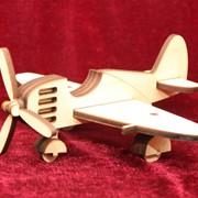 Сувенир деревянный Самолет фото