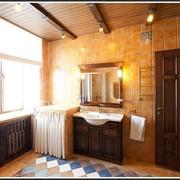 Мебель в ванную из массива дерева на заказ. фото