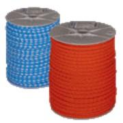 Полиэтилен плетеный оранжевый/бело-голубой (Piippo OY, Финляндия) фото