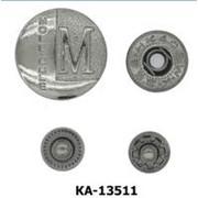 Кнопка Альфа 13,5мм, Код: КА-13511 фото