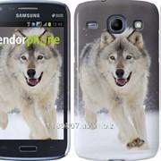 Чехол на Samsung Galaxy Core i8262 Бегущий волк 826c-88 фото