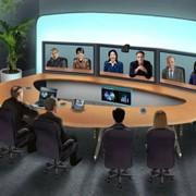 Предоставление кабинета переговоров Telepresence фото