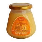 Мёд Алтайский с маточным молочком, 330г фото