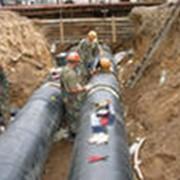 Строительство и ремонт сетей горячего водоснабжения и низкотемпературного теплоснабжения из полимерных материалов фото