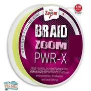 Braid Zoom PWR-X brai-ded line (fluo), 0,08, 120m фото