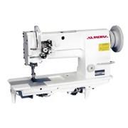 Двухигольная швейная машина с тройным продвижением фото