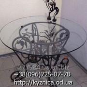 Кованый стол Модель КСТ-033 фото