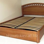 """Двуспальная деревянная кровать """"Екатерина"""" в Полтаве фото"""