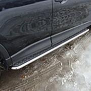 Пороги Mazda CX-5 2012-2016 (труба с листом 42 мм) фото