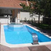 Внешний бассейн от компании CADOVA IMPEX фото